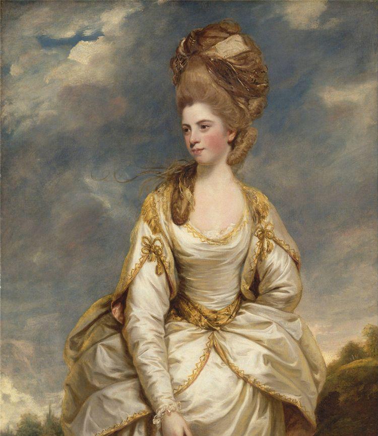 美术欣赏:18世纪英国皇家美术学院创办人笔下的人物肖像画