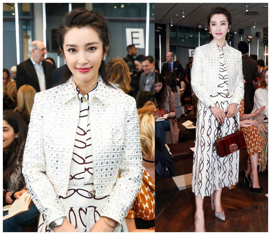 纽约时装周中国女星斗艳,李冰冰、娜扎腿长