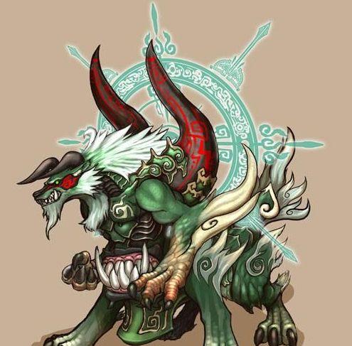 在12星座里我的专属守护神兽可是蛇王哦!帅呆了!看看你的什么?