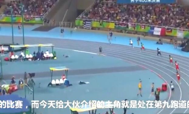 处在最难跑道,最后100米范尼凯克爆发甩开美国选手4米远破纪录了
