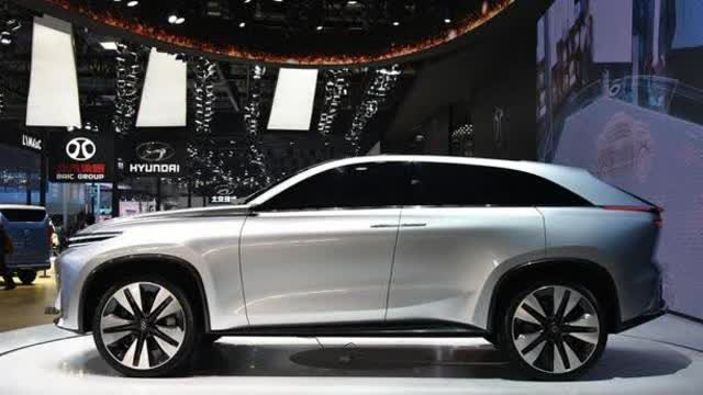 北汽最美SUV即将量产!面部识别、手势识别、声纹识别均有搭载