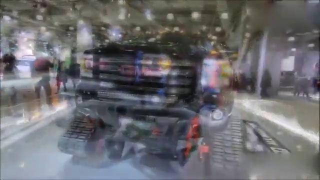 全地形战车,GMC SIERRA 2500 HD ALL TERRAIN X动态鉴赏