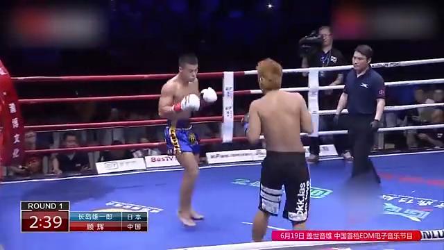 日本拳王两次击败一龙,中国小将场上铁拳打开眉弓,为一龙复仇