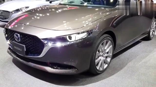 视频:新车马自达3实拍展示