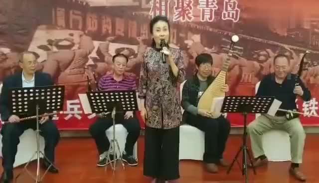 原铁11师宣传队器乐合奏江南春早