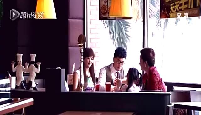因为爱情有多美:文馨和陈笑飞在一起吃饭,叶楠迪看到不淡定了!