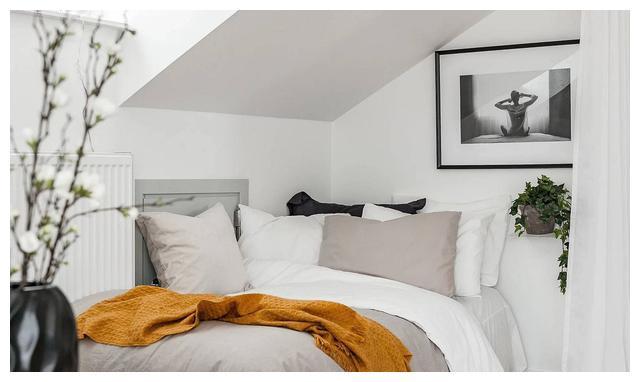 现代小卧室创意:20种节省空间的时尚卧室设计图片