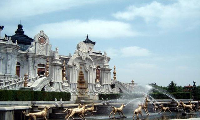"""被八国联军毁灭前的圆明园,有一座仿照凡尔赛宫的""""欧洲之城"""""""