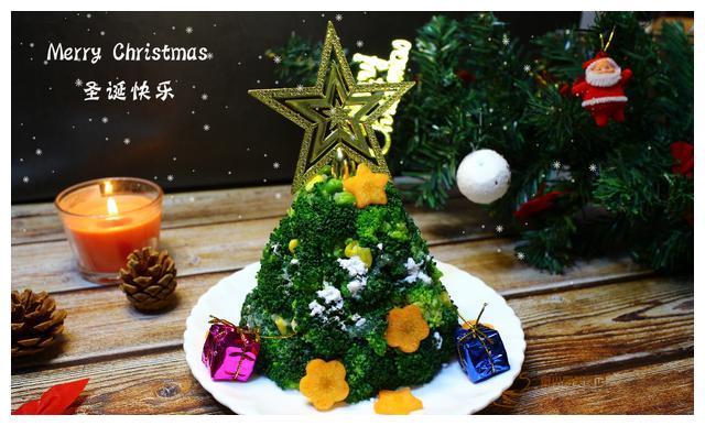 下周就是圣诞节了,应景做一个可以吃的圣诞树吧,小孩子很喜欢