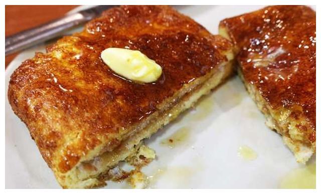 西多士,港式茶餐厅的人气王,用空气炸锅就能做,外脆内软超好吃