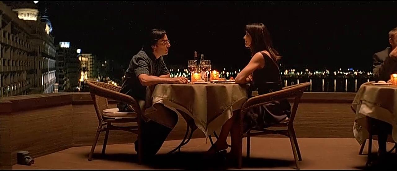 弗朗索瓦和吉雅拉吃烛光晚宴,网友:这也太浪漫了吧