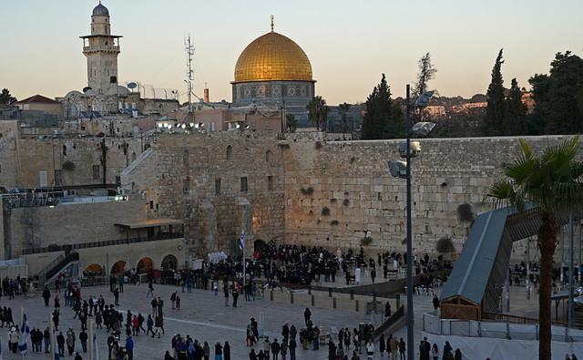 耶路撒冷,是宗教圣城,也是国外游客心灵的避难所