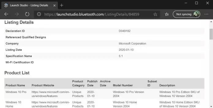 Windows 10获得蓝牙5.1认证 支持EATT特性