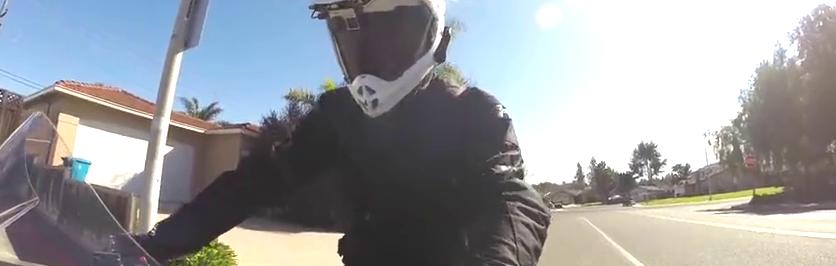 不要学,骑摩托升档会犯的错