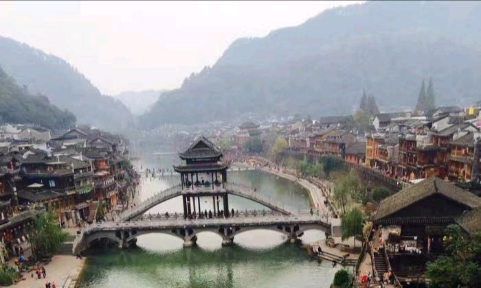 凤凰飞落湘西州,逶迤沱江穿城流——打卡湘西凤凰古城