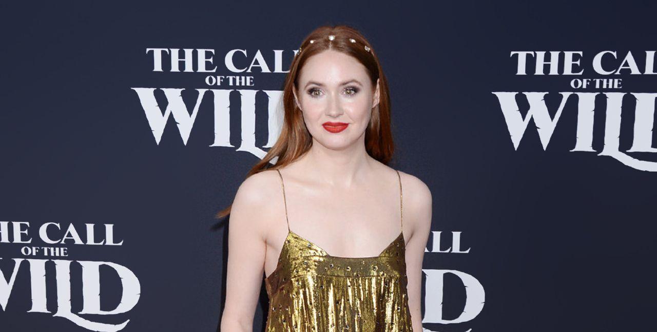 明星凯伦·吉兰电影《野性的呼唤》洛杉矶首映红毯风尚现场!