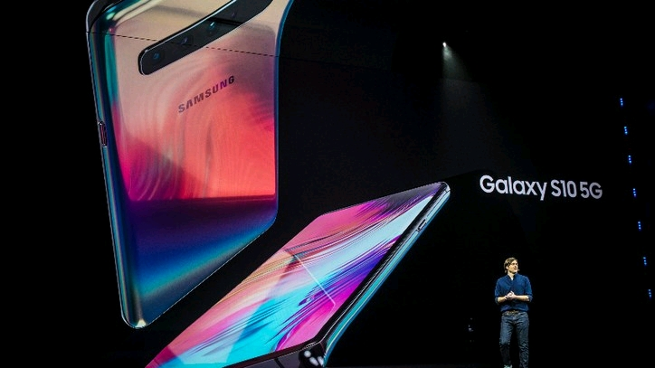 三星 5G 手机正式面世: 这是什么神仙配色?