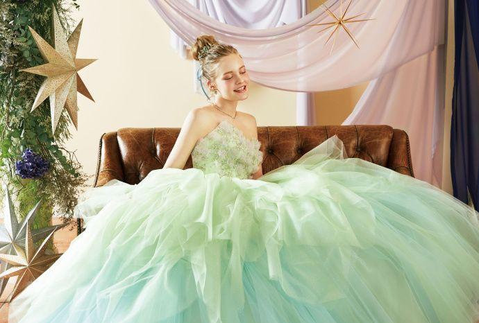 全新迪士尼公主系列婚纱美图