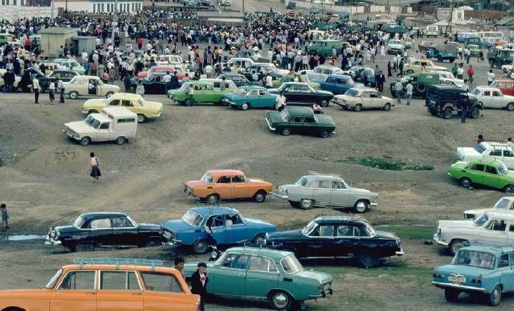 老照片:1990年代的蒙古首都乌兰巴托,不如国内的一座小县城