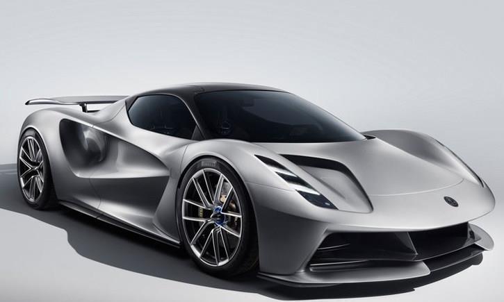 吉利汽车助力复兴路特斯纯电动超跑Evija发布18分钟充满电