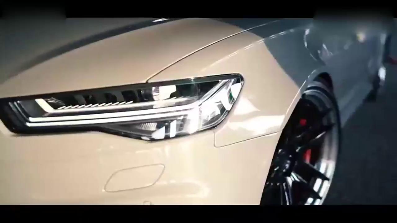 车轮上的爱奥迪RS6 Avant-Z性能车轮美爆了