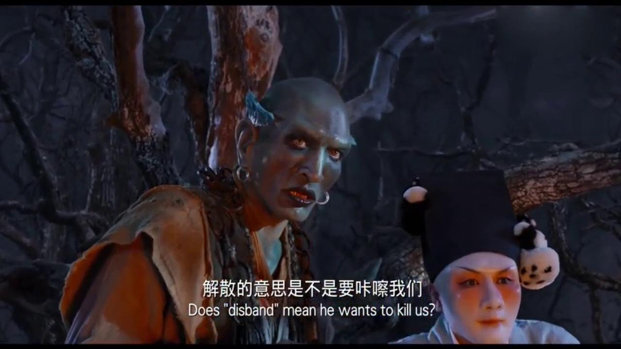 西游伏妖篇:沙和尚的话惊醒猪八戒,孙悟空还真不下手留情啊