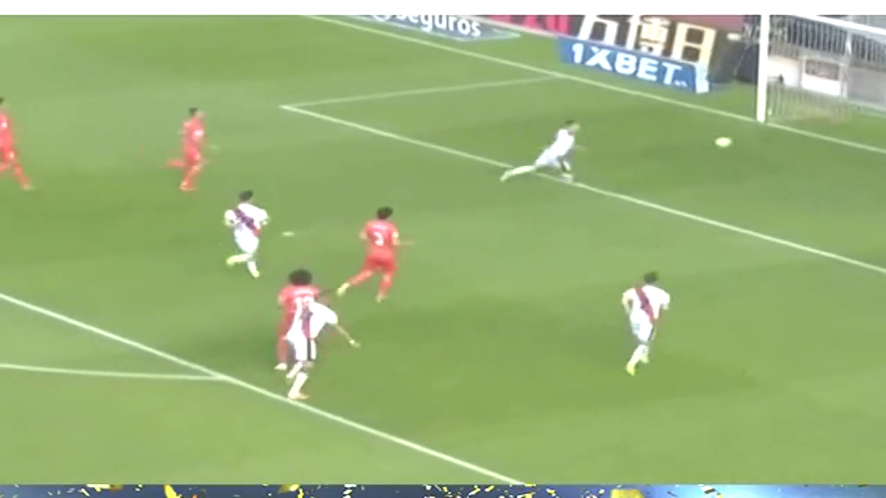 1:0!,巴列卡诺的恩巴尔巴点球得分!
