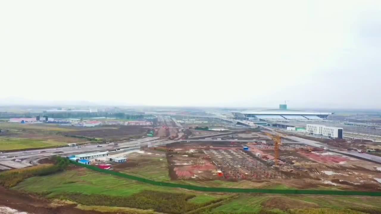 中国高铁枢纽之襄阳东站高铁站 , 航空限制 无法近拍