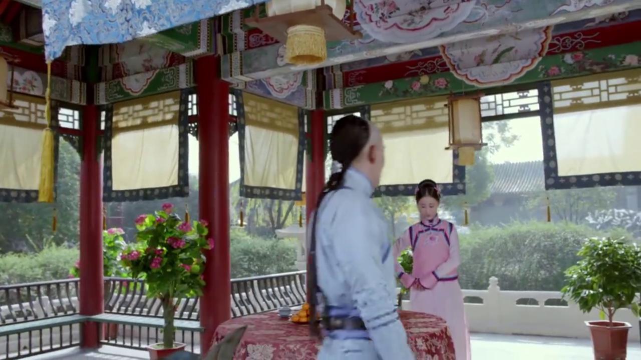 东哥:我要抱住金大树!呆萌的皇太极直接张开了双臂