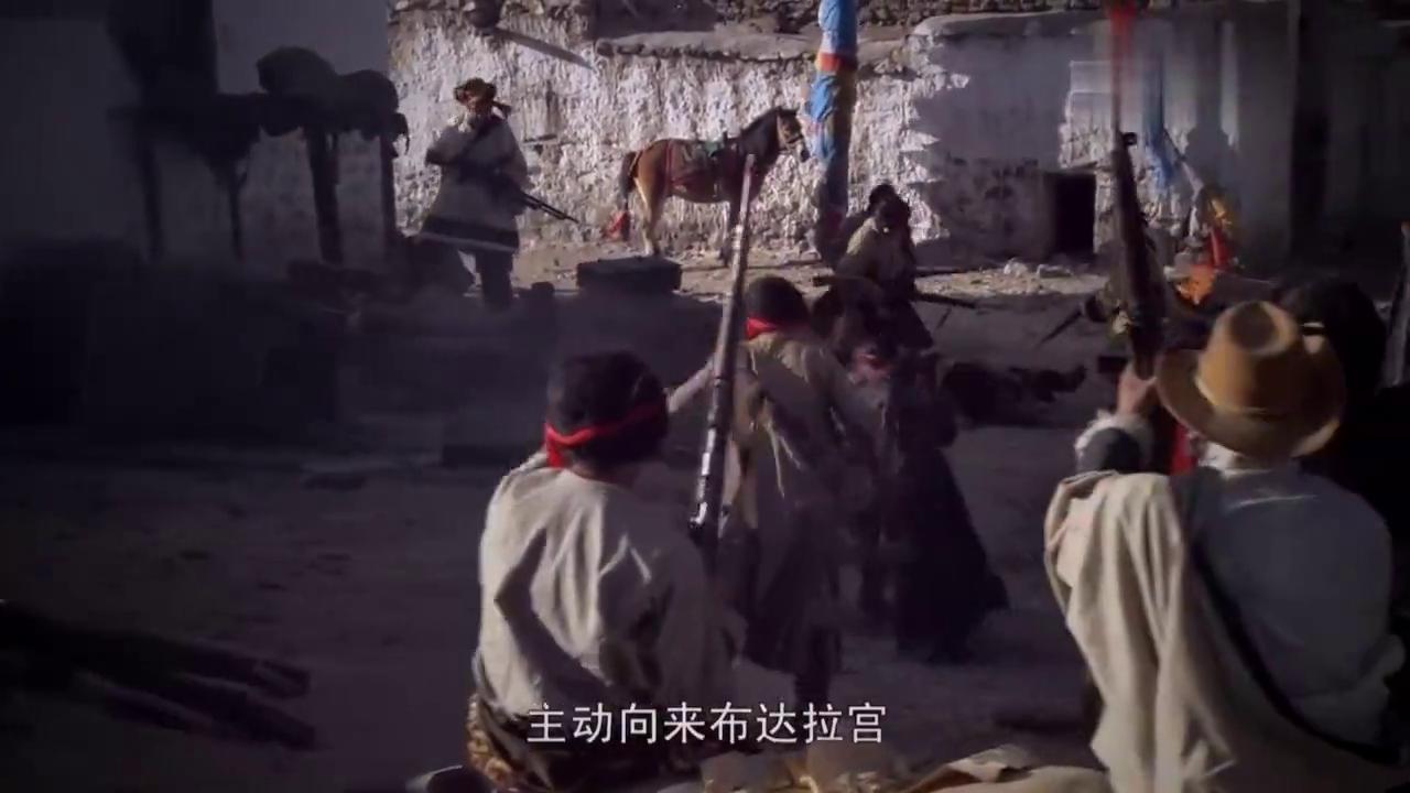 西藏秘密:达赖喇嘛观看军区演出,叛乱分子造谣,战乱一触即发!