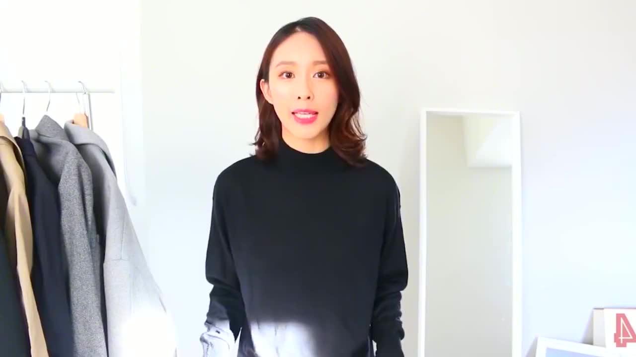 网红太会打扮了,这样穿毛衣+外套4,5岁穿出30年轻又洋气!