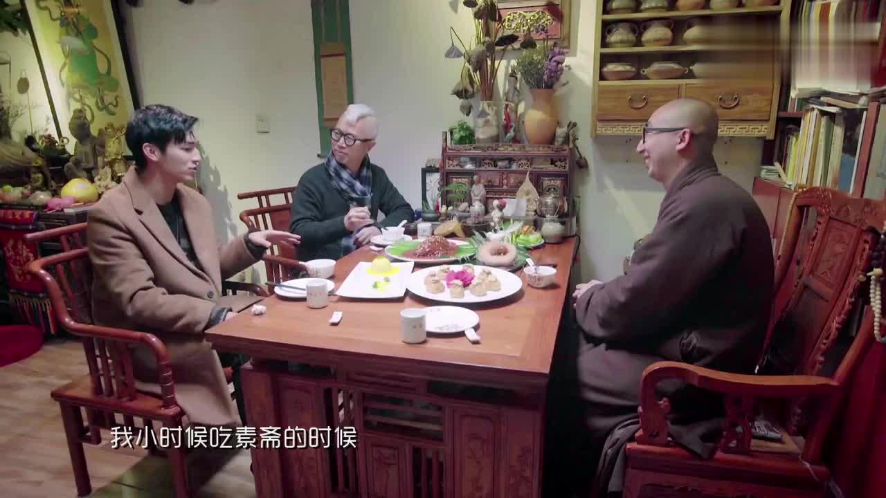 90后小鲜肉杨旭文竟在这里长大趣谈儿时吃素斋的记忆