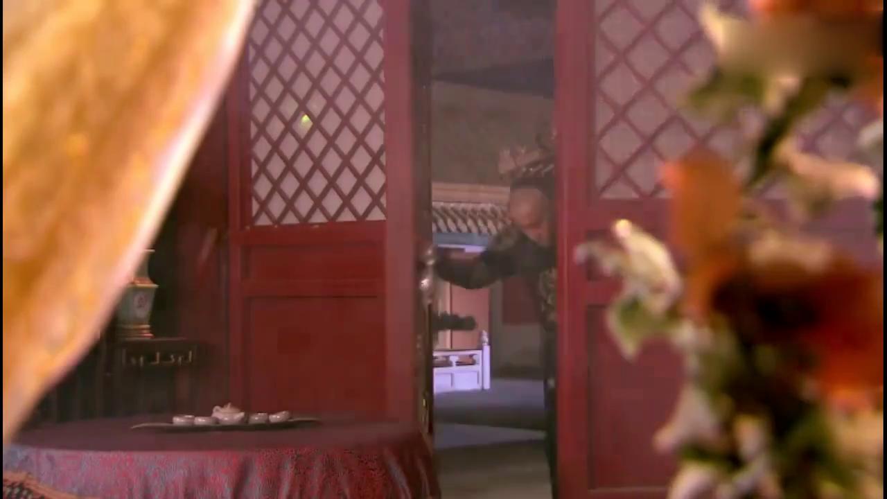 皇太极宿醉闯进海兰珠房间