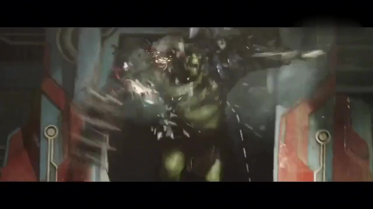 看到绿巨人出现洛基慌了我要离开这星球心理阴影得有多大