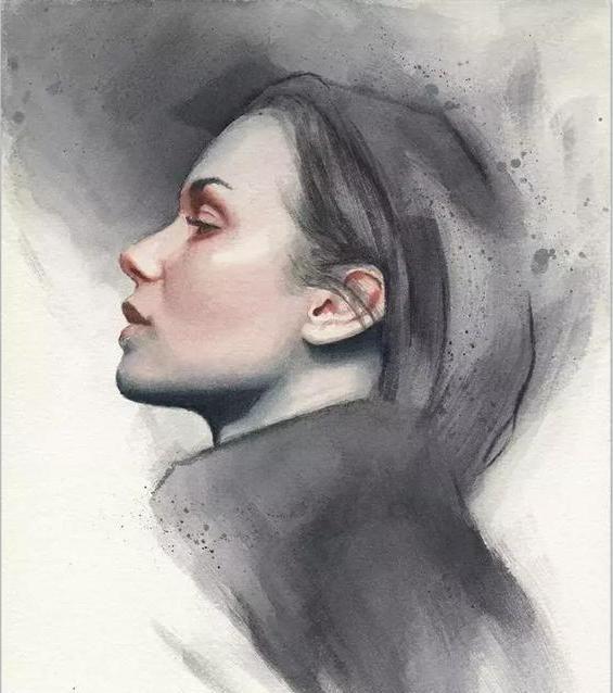 Miroslav Zgabaj 传神的水彩肖像插画作品