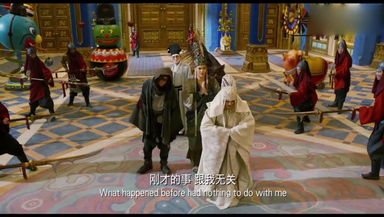 西游伏妖篇:遇上高手孙悟空,连对方解释的机会都没有