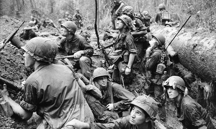 越战真实瞬间:图6士兵神情呆滞,美军失败或许已成定局