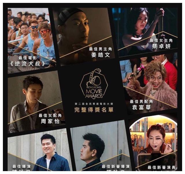搭档「吴镇宇」拍《逆流大叔》,视后「胡定欣」首战角逐金像奖
