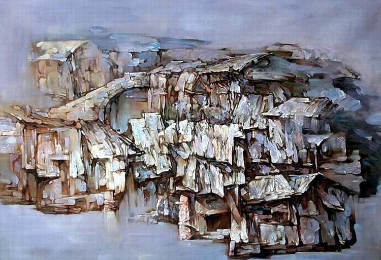 东方神韵•中国风——田小平油画艺术欣赏:风景与人物