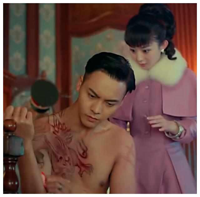 男神纹身,权志龙最潮流,吴亦凡帅气