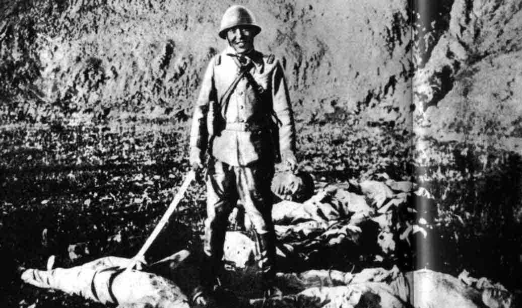 几张老照片,揭露了日军的残忍和兽性