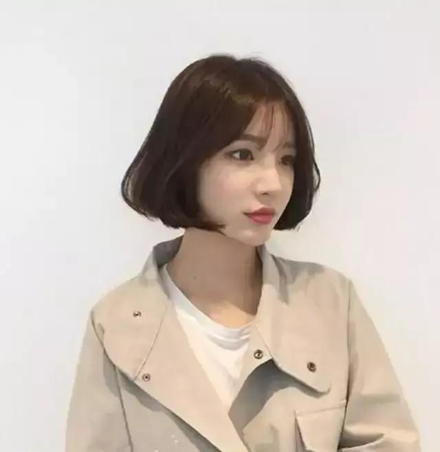 2019减龄发型来袭,非韩式短发发型莫属,真的好时尚又前卫图片