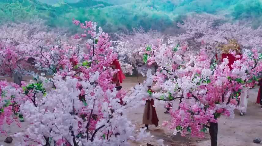 仙女冒充新娘嫁给桃花妖破轿而出的那刻太美了倾国倾城
