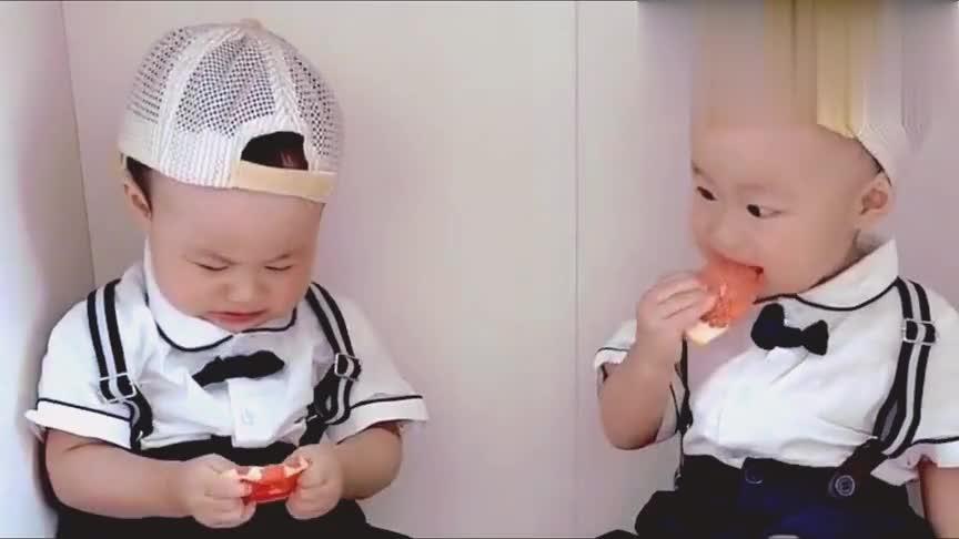 全网最可爱的双胞胎兄弟,这就是男神和男汉子的区别,不一样啊