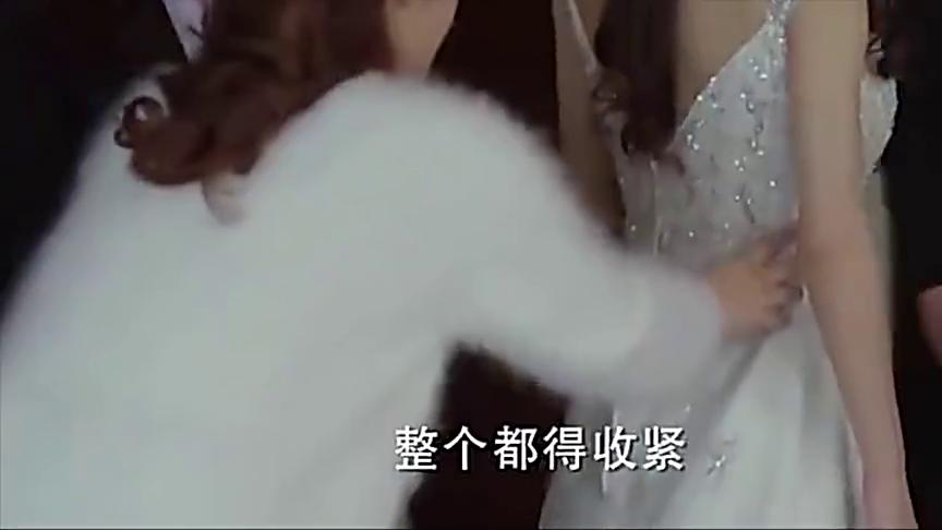 赵丽颖穿着婚纱坐沙发上睡着了,睡姿就是活脱脱的睡美人