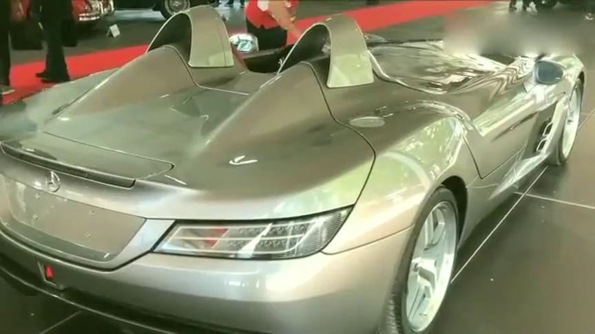 梅赛德斯奔驰SLR迈凯轮斯特林莫斯细节!