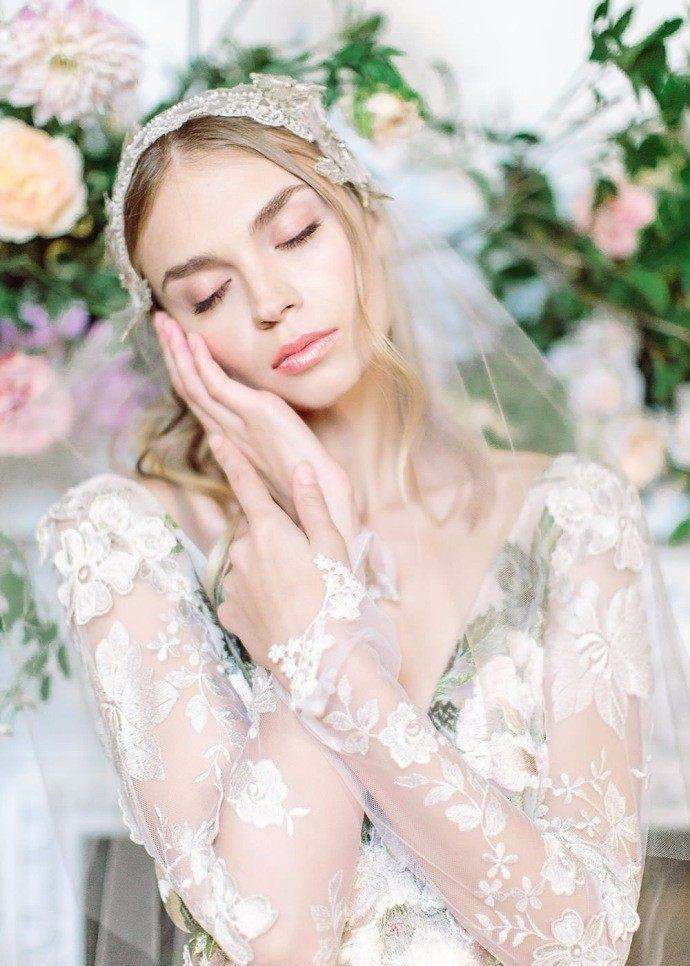 温柔舒适婚纱系列 如花仙子般甜美梦幻