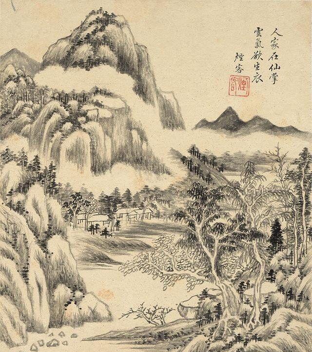 美术欣赏:王时敏笔下的山水风光秀丽 堪称中国画海一朵瑰丽奇葩