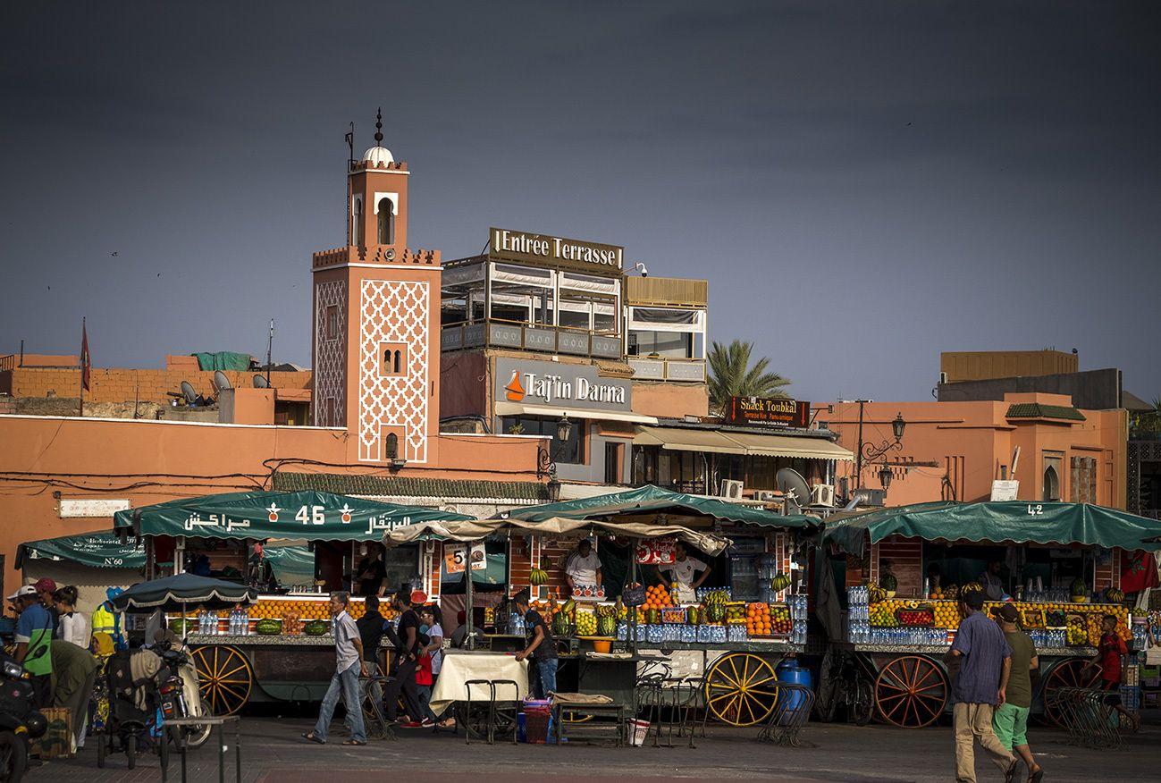 最佳生活纪实之马拉喀什的集市