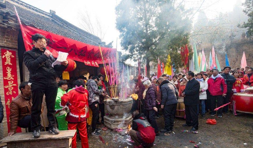 小村山神庙供奉介子推,庙会年年办轮上一次要12年
